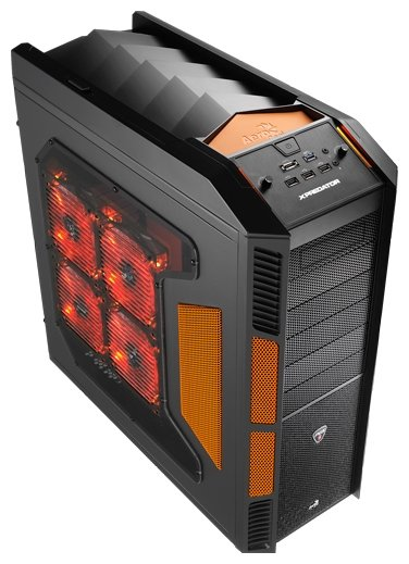 Компьютерный корпус AeroCool XPredator Evil Black