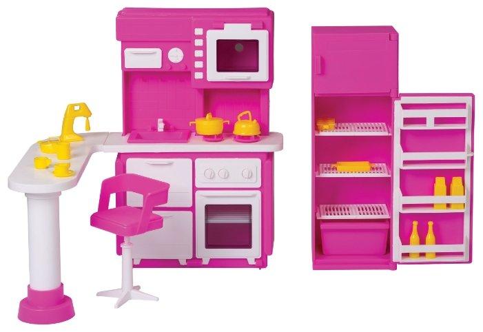 ОГОНЁК Набор мебели для кухни Зефир (С-1409)