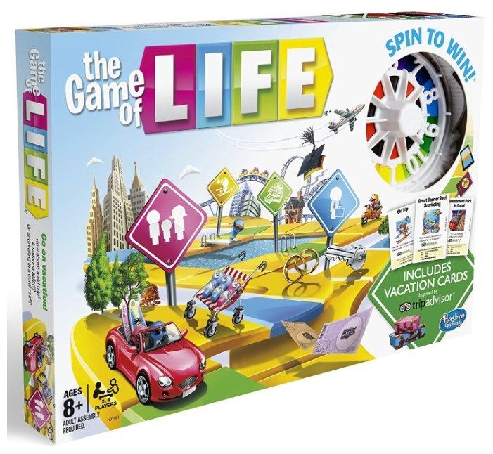 Настольная игра Hasbro games Игра в жизнь - Каникулы C0161