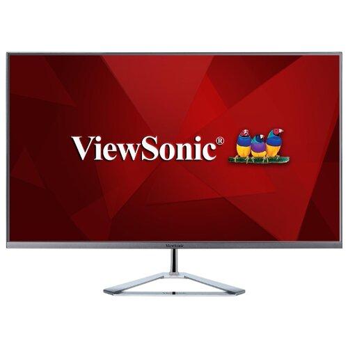 Монитор Viewsonic VX3276-2K-mhd 31.5 серебристый viewsonic vx3276 mhd 2 32 черный