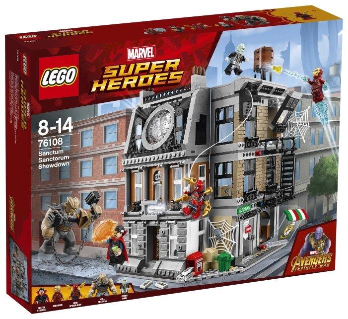 Конструктор LEGO Marvel Super Heroes AVENGERS infinity wars 76108 Решающий бой в Санктум Санкторум