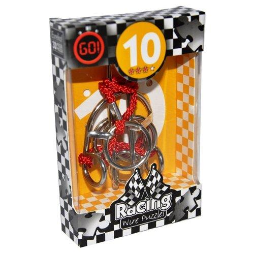 Купить Головоломка Eureka 3D Puzzle Racing Wire Puzzles 10 сложность 3 (473280) серый, Головоломки