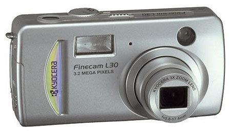 Фотоаппарат KYOCERA Finecam L30