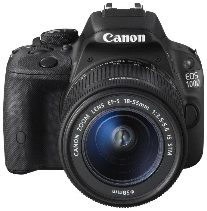 Canon EOS 100D 18-55DC Black Kit