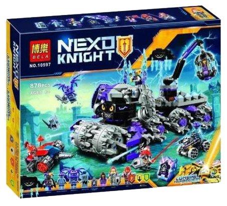Конструктор BELA (Lari) Nexo Knight 10597 Штаб Джестро