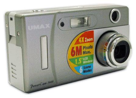 Фотоаппарат Umax PowerCam 3660