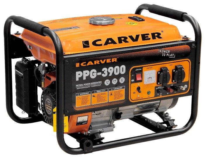 Бензиновый генератор Carver PPG 3900 (2900 Вт)