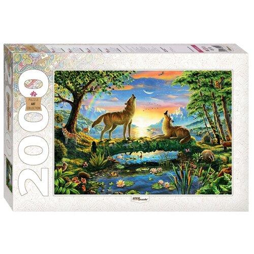 Купить Пазл Step puzzle Art Collection Волки (84029), элементов: 2000 шт., Пазлы