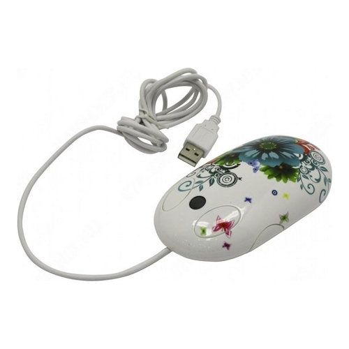 Мышь Jet.A OM-U11 White USB+PS/2