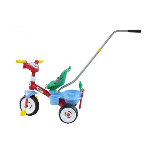 Купить Трехколесный велосипед Полесье 46741 Беби Трайк красный/зеленый/голубой, Трехколесные велосипеды