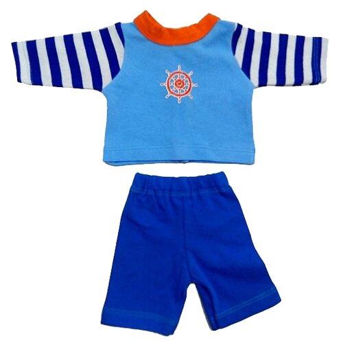 Купить Mary Poppins Кофточка и брюки для куклы 38 - 43 см 219 море, Одежда для кукол