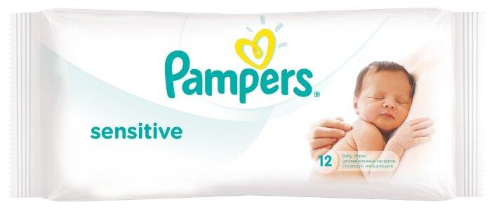 Влажные салфетки Pampers Sensitive 56 шт.