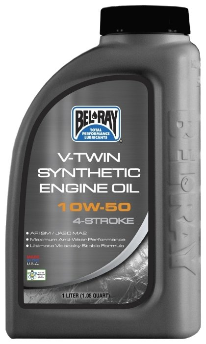 Bel-Ray V-Twin Synthetic 10W-50 1 л