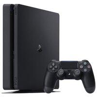 Игровая приставка Sony PlayStation 4 Slim 500GB (CUH-2216A) черная