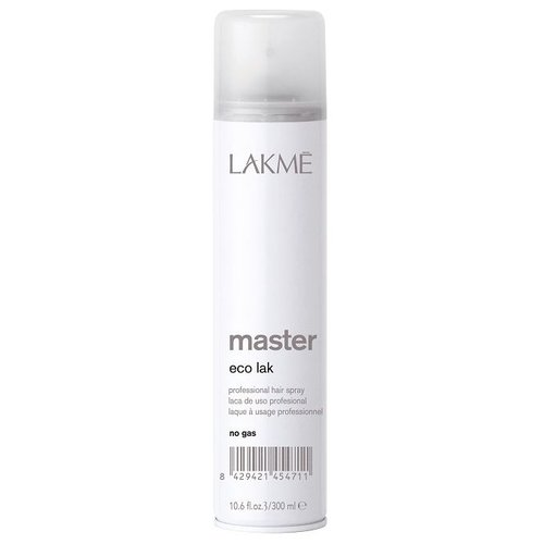 Фото - Lakme Лак для волос Master Eco, 300 мл lakme master perm selecting system 1 waving lotion лосьон для нормальных волос 500 мл lakme master