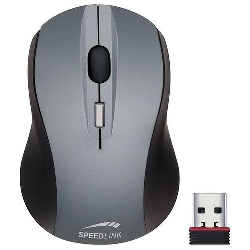 Мышь SPEEDLINK Apex Nano Receiver Mouse Silver-Black USB