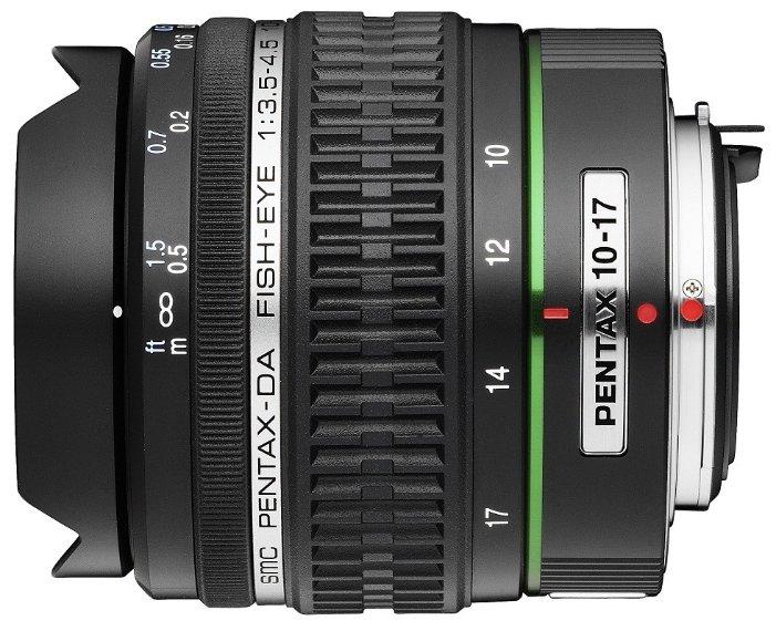 Объектив Pentax SMC DA 10-17mm f/3.5-4.5 ED (IF) Fish Eye