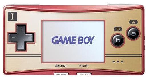 Игровая приставка Nintendo Game Boy Micro
