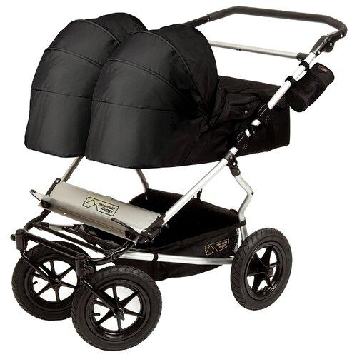 Универсальная коляска Mountain buggy Duet (2 в 1) черный buggy boom коляска для кукол buggy boom infinia трансформер салатовая