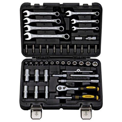 Набор автомобильных инструментов BERGER (45 шт.) Зиген BG045-14Наборы инструментов и оснастки<br>