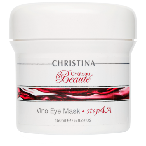 Christina Маска для кожи вокруг глаз Chateau de Beaute Vino Eye Mask 150 мл christina маска для лица купить