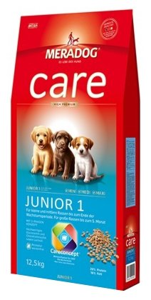 Корм для собак Meradog Care Junior 1
