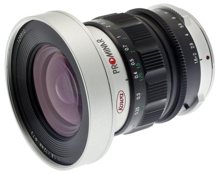 Объектив Kowa Prominar 12mm f/1.8 Micro 4/3