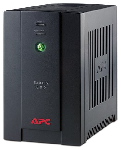 APC by Schneider Electric Back-UPS 800VA LED with AVR 6 IEC