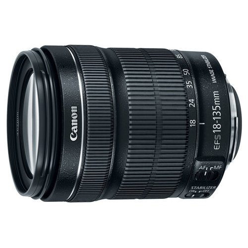 Объектив Canon EF-S 18-135mm f/3.5-5.6 IS STM черный