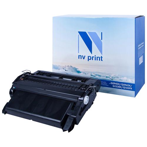 Фото - Картридж NV Print Q5942X/Q5945X/Q1338X/Q1339X для HP, совместимый картридж nv print cf542x для hp