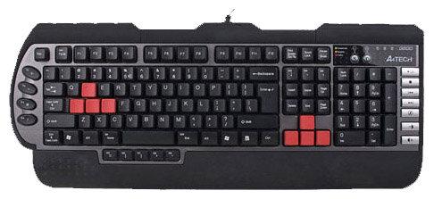 Клавиатура A4Tech X7-G800MU Black-Silver USB