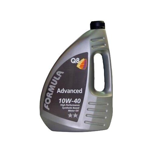 Полусинтетическое моторное масло Q8 Formula Advanced 10W-40, 4 л