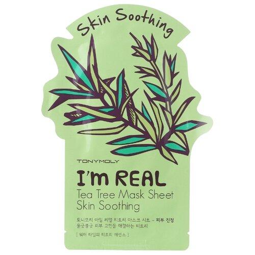 TONY MOLY тканевая маска I'm Real Tea Tree, 21 гМаски<br>