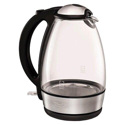 Чайник Tefal KI 7208, нержавеющая сталь/черный чайник tefal k0 1201 дорожный