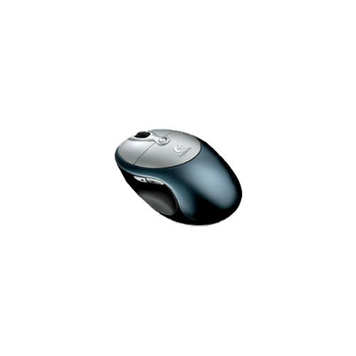 Мышь Logitech Cordless Click! Plus Optical Mouse Metallic USB+PS/2