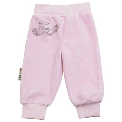 Брюки lucky child размер 22, розовыйБрюки и шорты<br>
