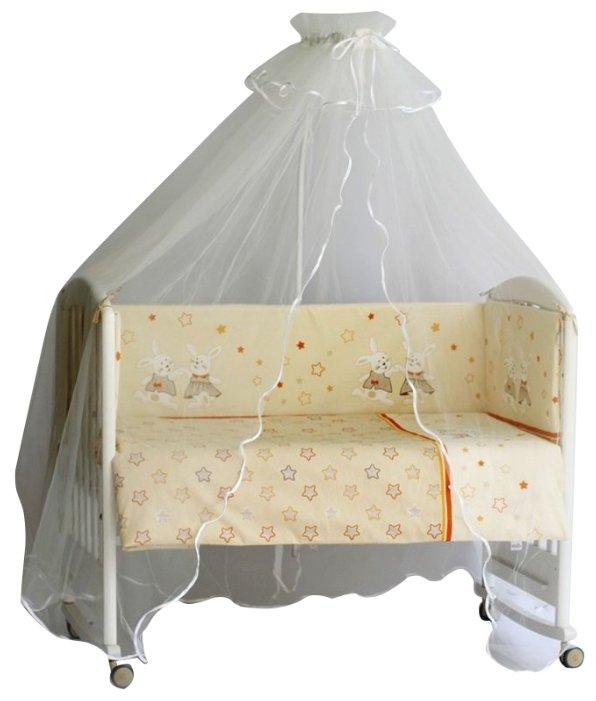 Pituso комплект в кроватку Зайки (6 предметов)