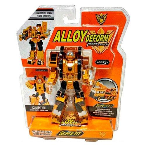 Купить Робот-трансформер Shantou Gepai Alloy Deform SY6078C-4 оранжево-черный, Роботы и трансформеры