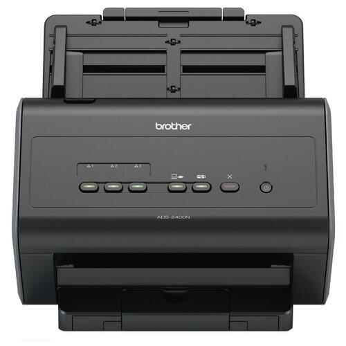 Сканер Brother ADS-2400N черный