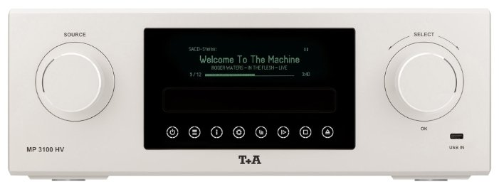 CD-ресивер T+A MP 3100 HV