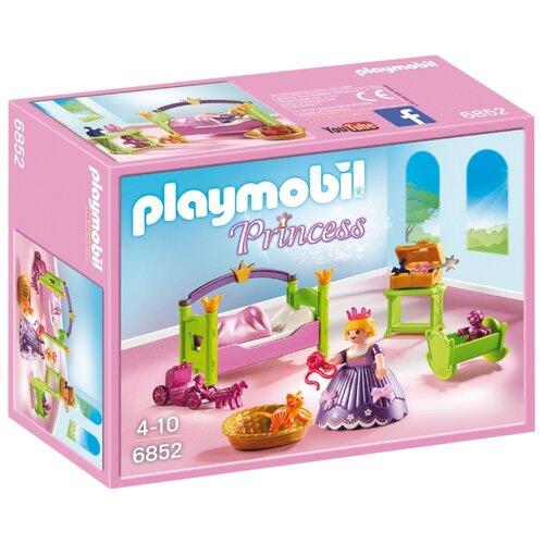 цена на Набор с элементами конструктора Playmobil Princess 6852 Королевская няня