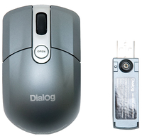 Мышь Dialog MROK-10SU Silver USB