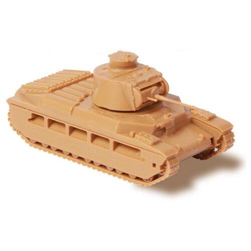 Сборная модель ZVEZDA Британский средний танк Матильда II (6171) 1:100 сборная модель zvezda браво 2065 1 100