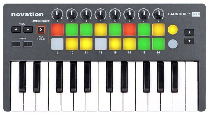 Novation Launchkey Mini MK3 MIDI Контроллеры