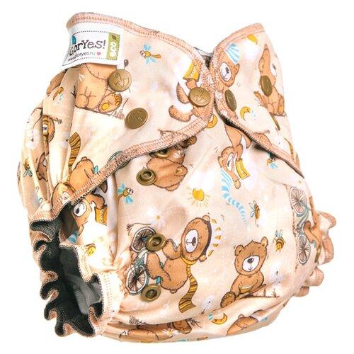 Купить GlorYes! подгузники Optima NEW (3-18 кг) 1 шт. медвежонок, Подгузники