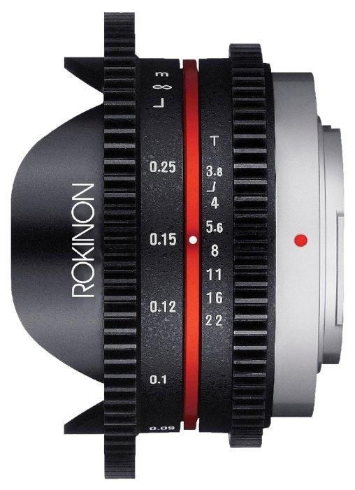 Объектив Rokinon 7.5mm T3.8 Cine IF ED UMC Aspherical Micro 4/3 (CV75MFT)