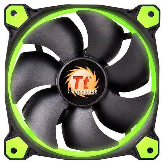 Thermaltake Система охлаждения для корпуса Thermaltake Riing 14 LED Green