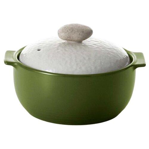 Кастрюля Frybest Charm 1,6 л, зеленый/бежевый недорого