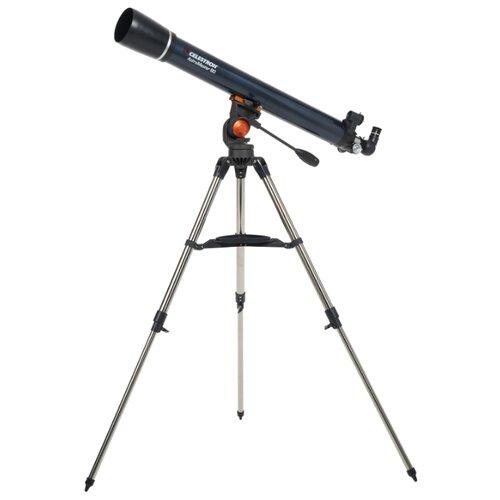 Телескоп Celestron AstroMaster 90 AZ синий/серебристый телескоп bresser junior space explorer 45 600 az синий