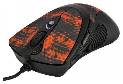 Мышь A4Tech F7 Snake Black-Red USB